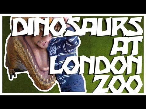 DINOSAURS At LONDON Zoo