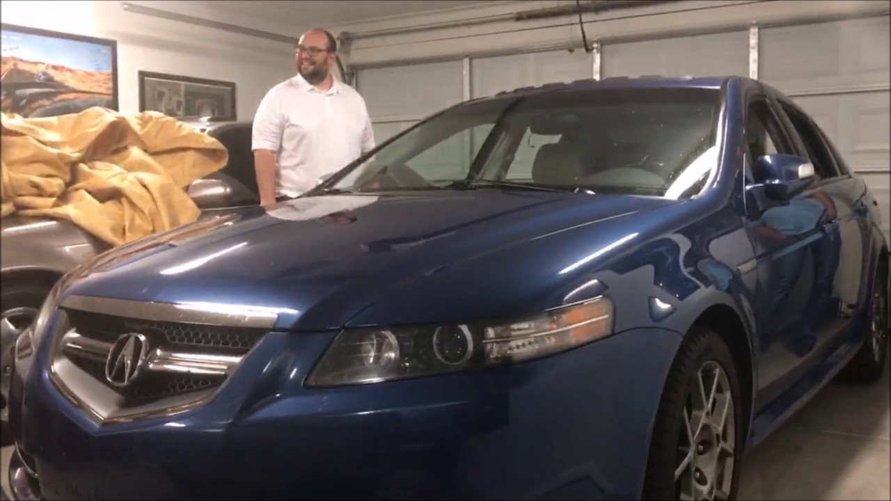 Surprise Reveal My 2007 Acura Tl Type S 6 Sd In Kinetic Blue Pearl 4 12 2017