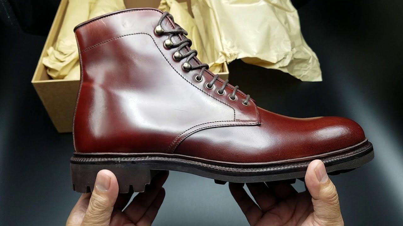 Meermin Shell Cordovan Boots - YouTube