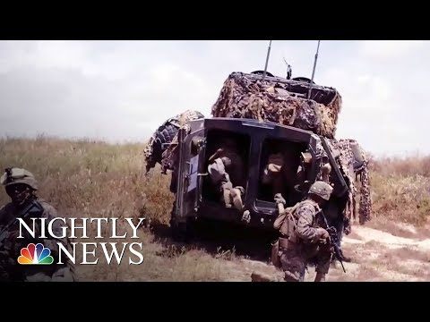 Fort Bragg Explosion: 1 Soldier Killed, Many Injured During Training | NBC Nightly News