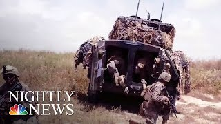 Fort Bragg Explosion  1 Soldier Killed, Many Injured During Training | NBC Nightly News