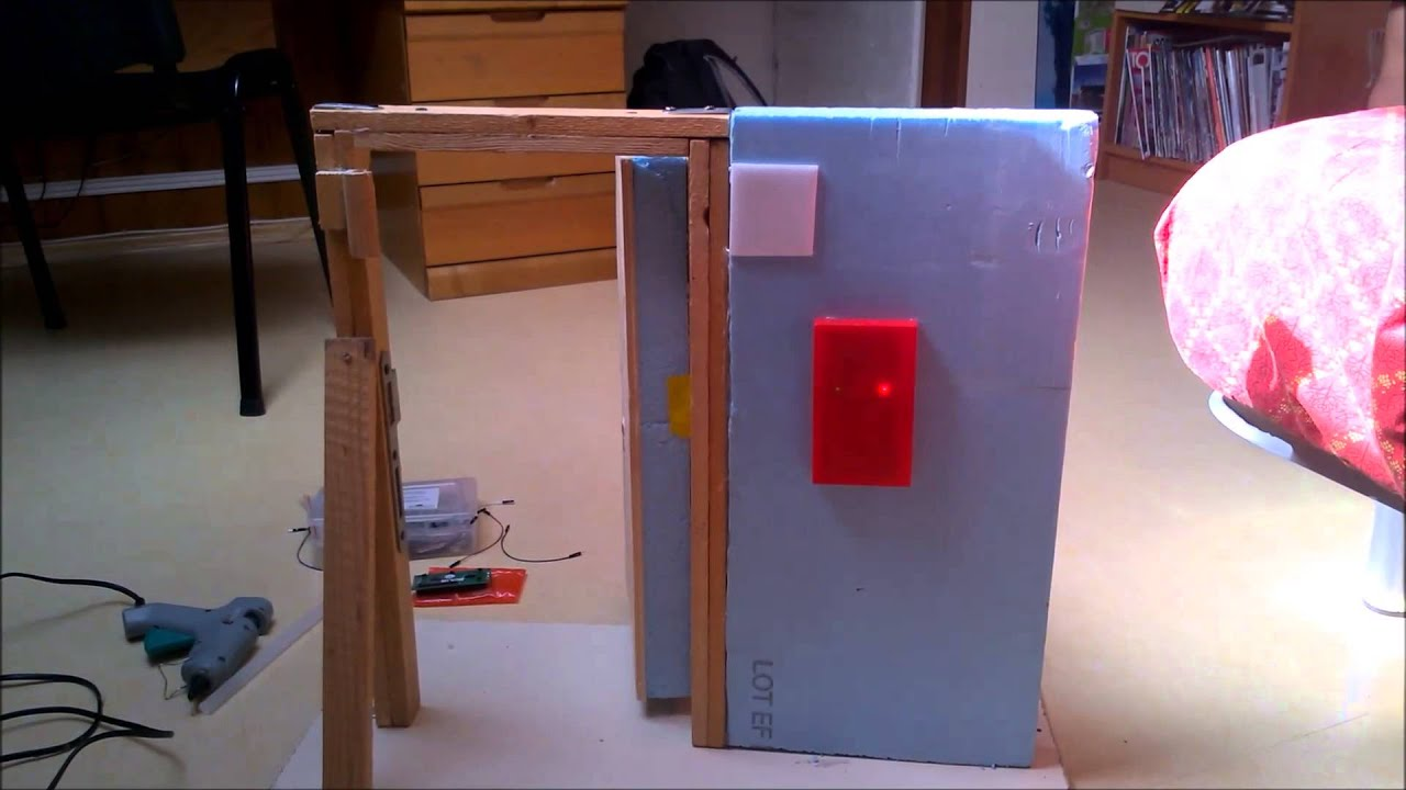 Tuto r alisation d 39 une porte domotique arduino rfid for Ouvrir une porte claquee avec une radio