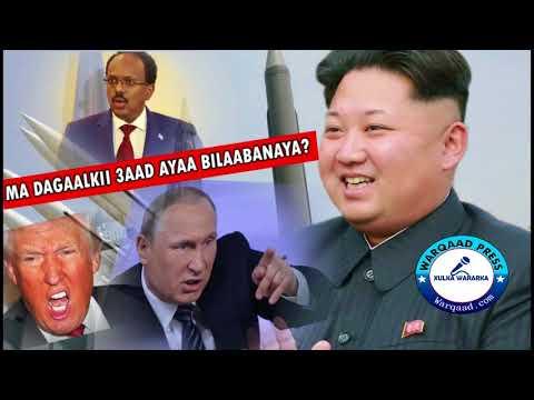 WARAR Deg Deg ah: Dagaalkii Sedexaad ee Aduunka: Ruushka Vs USA & Kuuriya