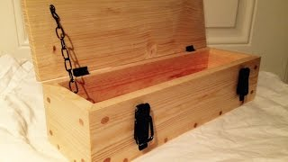 Pallet Wood Gift Box (pallet Upcycle Challenge 2015)
