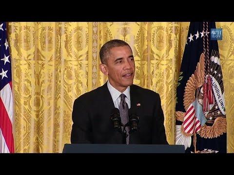 President Obama Speaks on the Precision Medicine Initiative