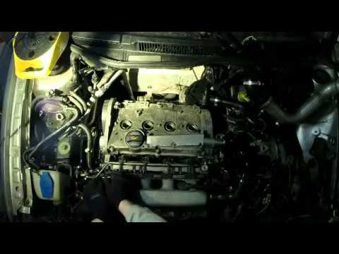VW cylinder head removal