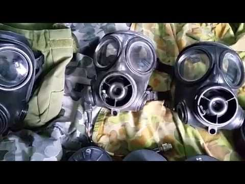 Gas Mask Guys: Short video on Australian S10 gas masks