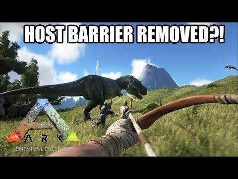 HOST BARRIER TO BE REMOVED?! - ARK: SURVIVAL EVOLVED - (UPDATE!)