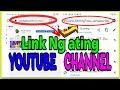 Paano makuha ang link sa ating youtube channel (Tagalog tutorial)