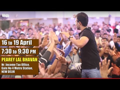 [DELHI] FREE Change Your Life Seminar 2018 | Life Changing Motivational Seminar in NEW DELHI
