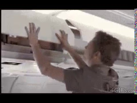 Багажный отсек в самолете