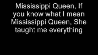Mountain-Mississippi Queen Lyrics