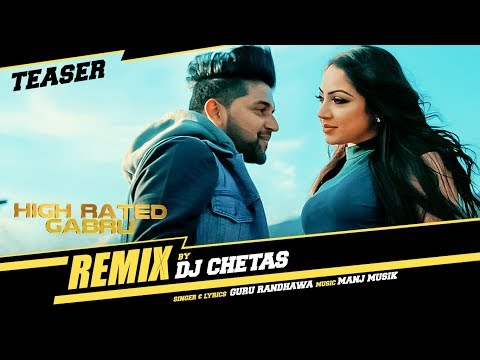 "Song Teaser : Guru Randhawa ""High Rated Gabru Remix""   DJ CHETAS   Releasing ► 31st October"