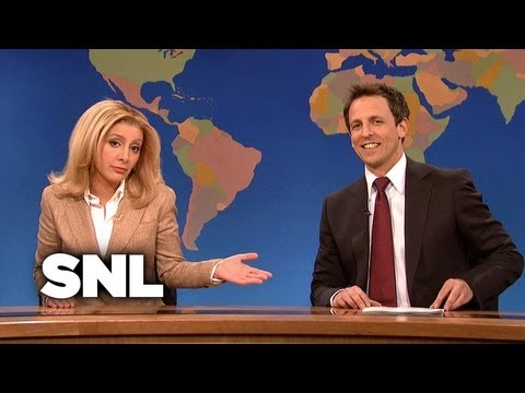 Weekend Update: Arianna Huffington on Gay Rights - Saturday Night Live