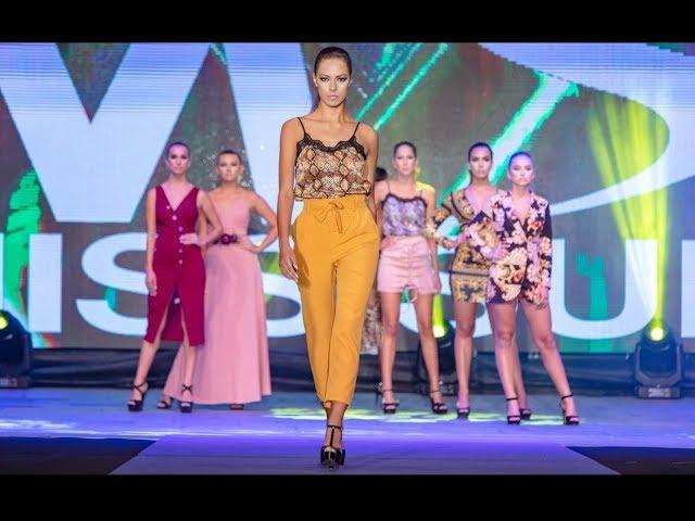 Miss Sur 2018 - desfile CLARA CASTLE