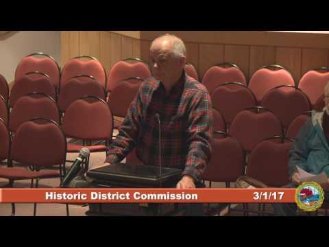 Historic District Commission 3.1.17