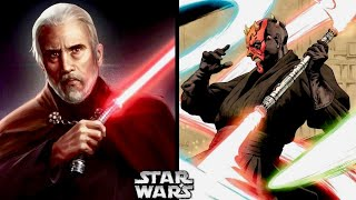 Why Dooku Didn't Respect Duelists Using Double-Bladed Lightsabers or Multiple Lightsabers! (Legends)