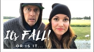 IT'S THE FIRST DAY OF FALL!  OR IS IT...| Kristin and Danny