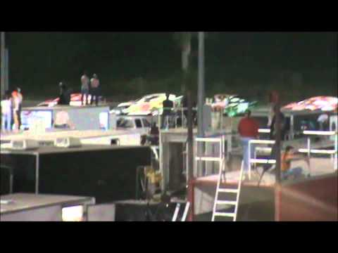 Tony Rost Adams County Speedway A Feature NASCAR Sport Modified 7/2/11