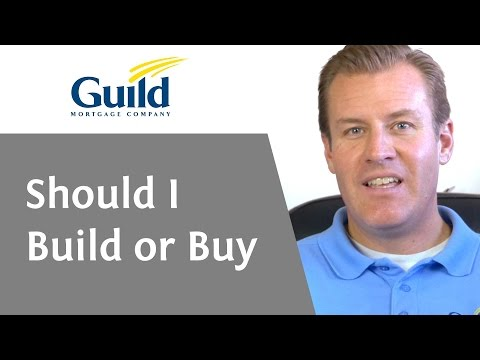 Should I Build Or Buy A Home- Build or Buy?