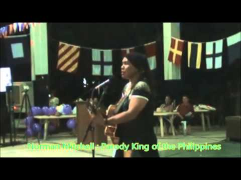 Norman Mitchell Comedy King Stand up Comedian sings Funny Parody Soldiers Song