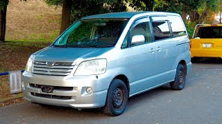 2002 Toyota Noah X (Canada Import) Japan Auction Purchase Review