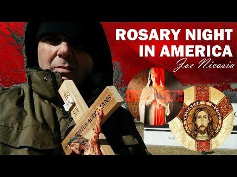 ROSARY NIGHT IN AMERICA with Joe Nicosia - Wed, Mar. 25, 2020