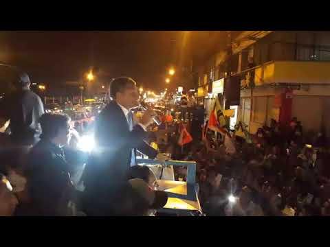 Rafael Correa  Visita Santo Domingo de los Tsáchilas.Ecuador.