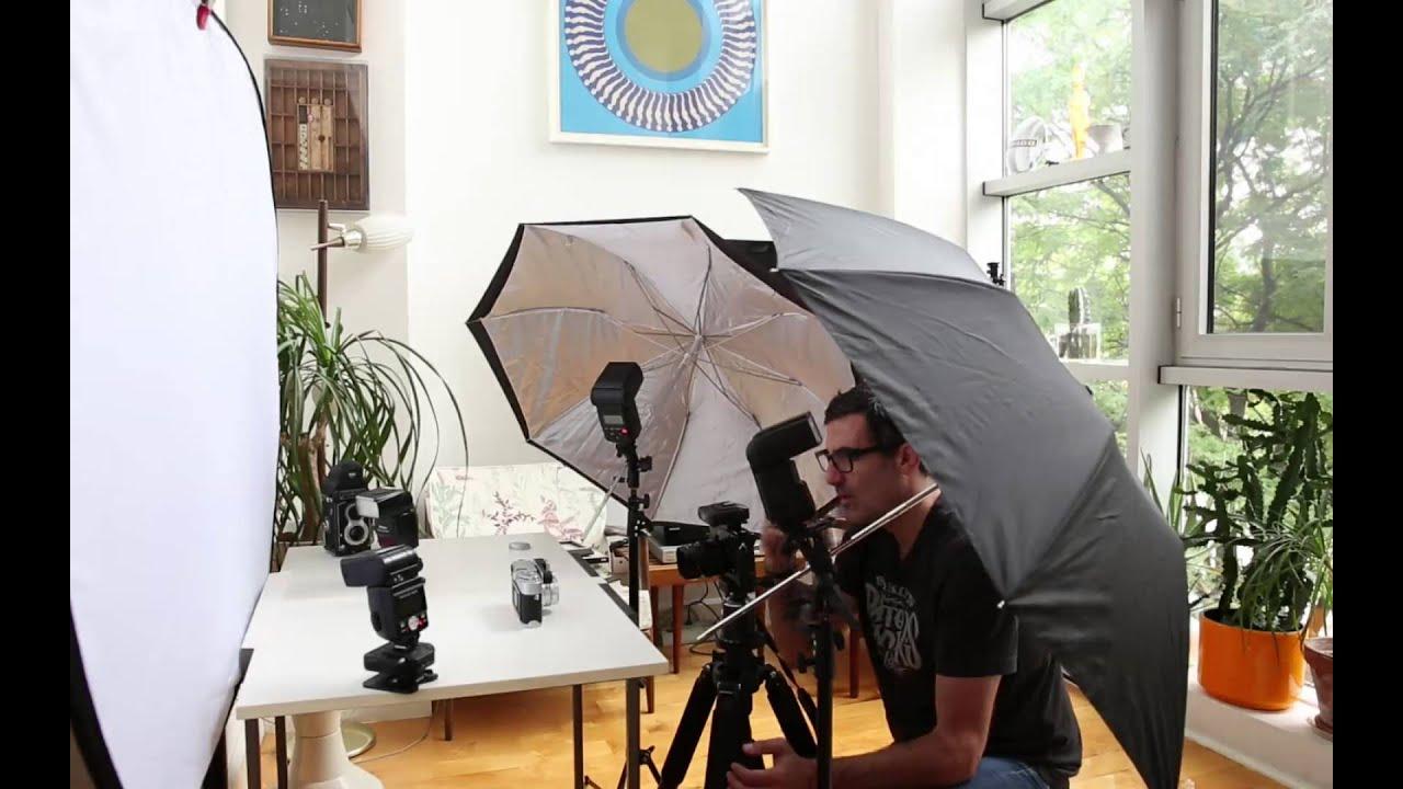 Studio Flash Setup