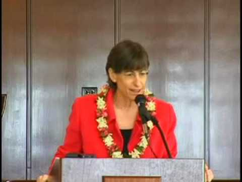 Part 5 of Hawaii Governor, Linda Lingle