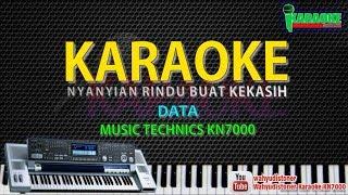 Karaoke Data - Nyanyian Rindu Buat Kekasih - Music KN7000 HD Quality Lagu Malaysia Lyrics Tanpa Voc