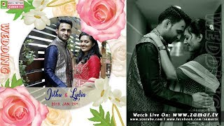 Jithu & Lydia   Wedding Ceremony   21st JAN 2019   Contour Backwater Resort     Live On Zamar TV