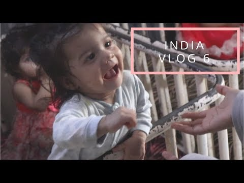 My FIRST TIME at an ORPHANAGE! (INDIA VLOG 6)