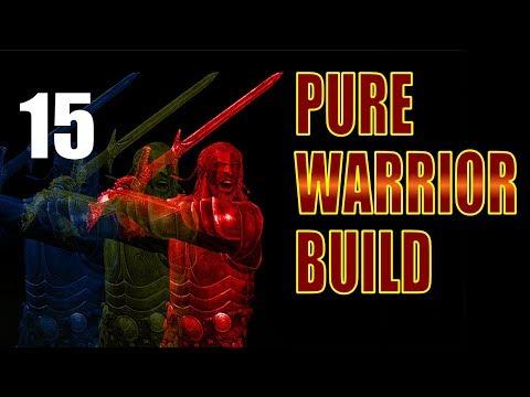 Skyrim Pure Warrior Build Walkthrough SURVIVAL, NO MAGIC Part 15: No Prep Legendary