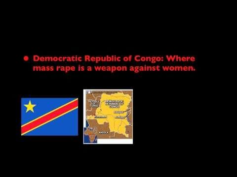Dem. Rep. of Congo: Where mass rape is a weapon against women