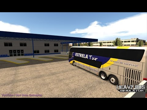 HEAVY BUS SIMULATOR ( Best Bus Driving Game ) Android Gameplay HD