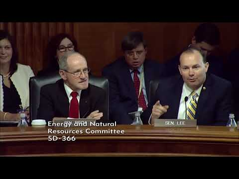 Risch Introduces Ryan Nelson at Energy and Natural Resources Nomination Hearing