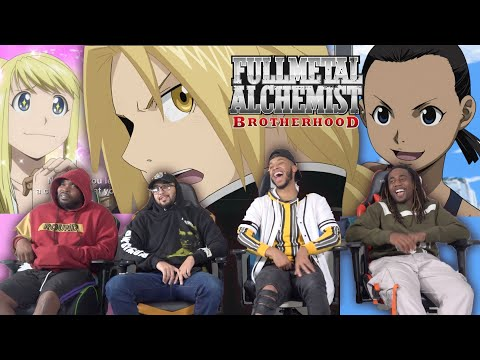 """Full Metal Alchemist Brotherhood Episode 11 """"Miracle At Rush Valley"""" REACTION/REVIEW"""