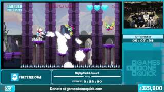 Mighty Switch Force! 2 by TonyOgbot in 23:29 - Summer Games Done Quick 2015 - Part 62