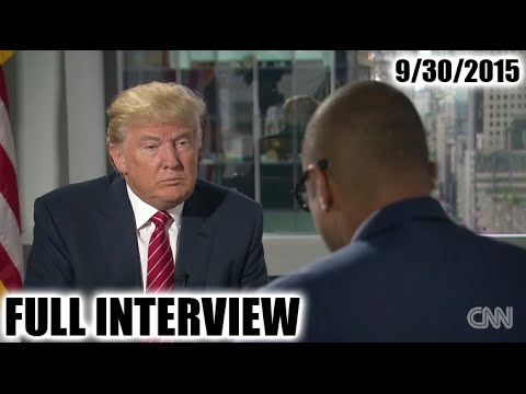 Donald Trump Don Lemon Interview CNN with Don Lemon Donald Trump CNN Interview 9/30/15