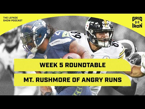 Kyle Brandt On The Mt. Rushmore of Angry Runs! | The Lefkoe Show