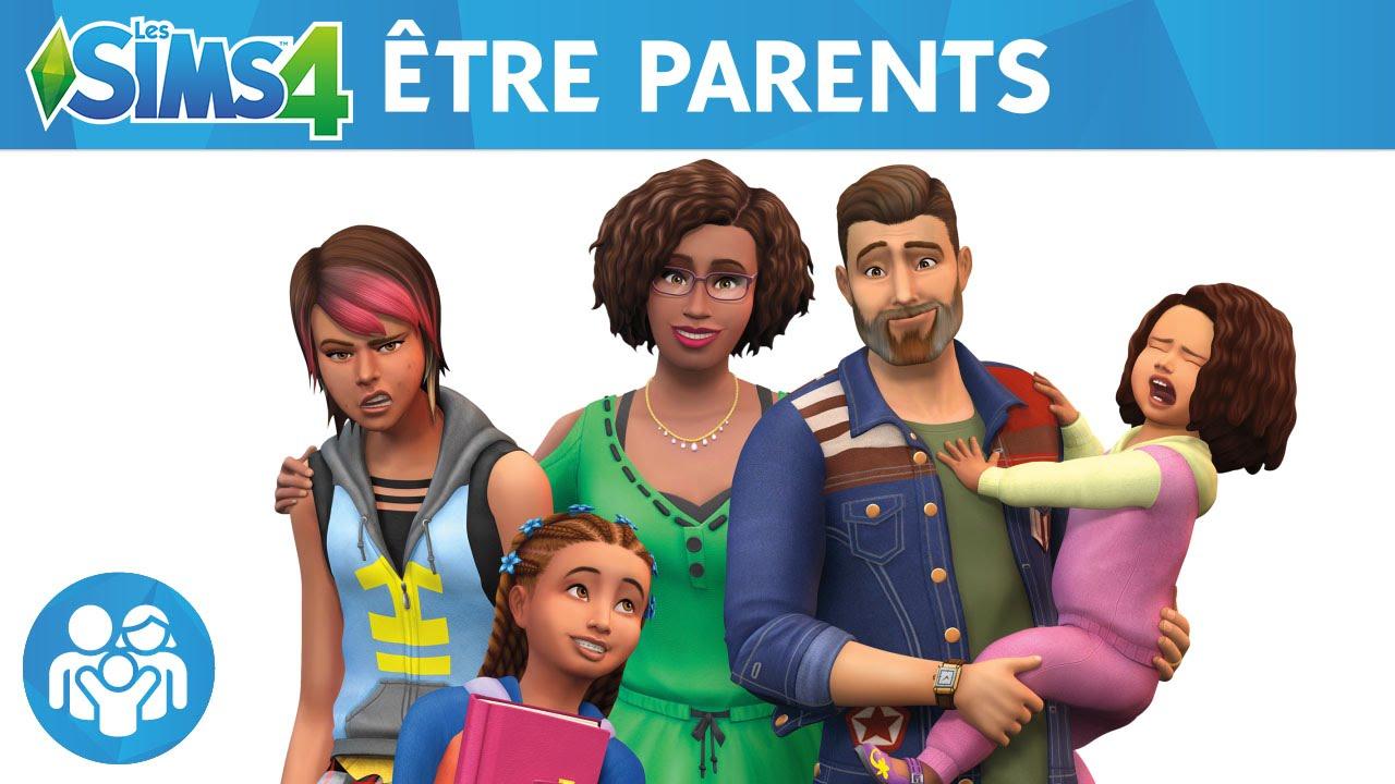 Les Sims 4 Être Parents  Bandeannonce Officielle  Youtube