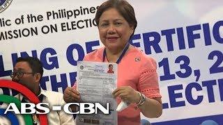 Halalan 2019: Senator Villar seeks re-election, files COC | 15 October 2018