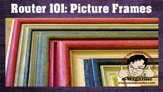 10 AMAZING picture frames you can make with REGULAR ROUTER BITS!!!!