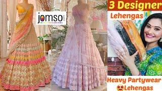 🌟Jomso Designer Lehenga Haul🌟Latest Bridal/Partywear Lehengas🌟Designer Lehenga Haul🌟Jomso  haul screenshot 4