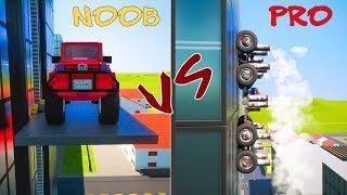 Lego NOOB vs PRO | Brick Rigs