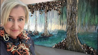 How to create trees in your resin using filler and potpourri