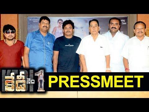 Kedi no1 pressmeet - Shakalaka Shankar - Niharika Movies