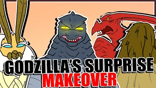 Godzilla's Surprise Makeover (Godzilla Comic Dub)