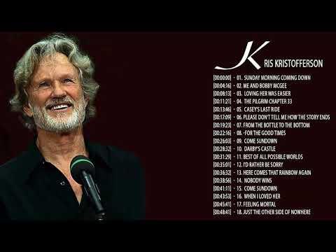 Kris Kristofferson Greatest Hits    Kris Kristofferson Playlist